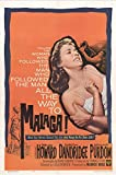 Malaga Movie Poster (27,94 x 43,18 cm)