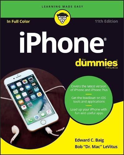Preisvergleich Produktbild iPhone For Dummies (For Dummies (Computer / Tech))