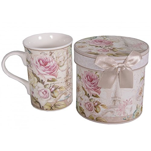 Antic Line - Coffret mug décor Rose de Paris