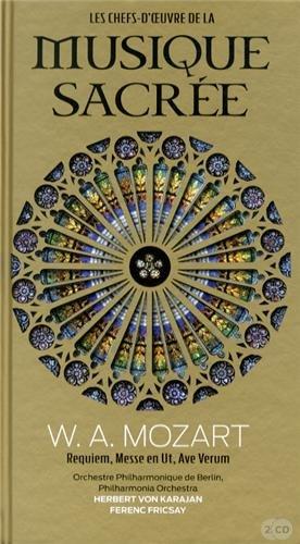 Les Chefs-d'oeuvres de la Musique Sacree, W.A. Mozart, Requiem, Messes en Ut, Ave Verum