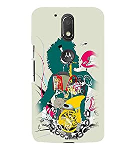 Moto G Play (4th Gen) :: Motorola Moto G4 Play singer, man, music man, rockstar Designer Printed High Quality Smooth hard plastic Protective Mobile Case Back Pouch Cover by Paresha