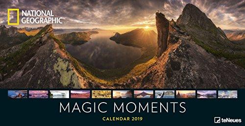 Magic Moments 2019 - National Geographic Panoramakalender, Naturkalender 2019, Landschaftskalender 2019, Wandkalender 2019  -  64 x 33 cm