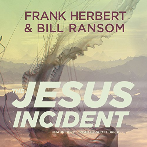 The Jesus Incident  Audiolibri