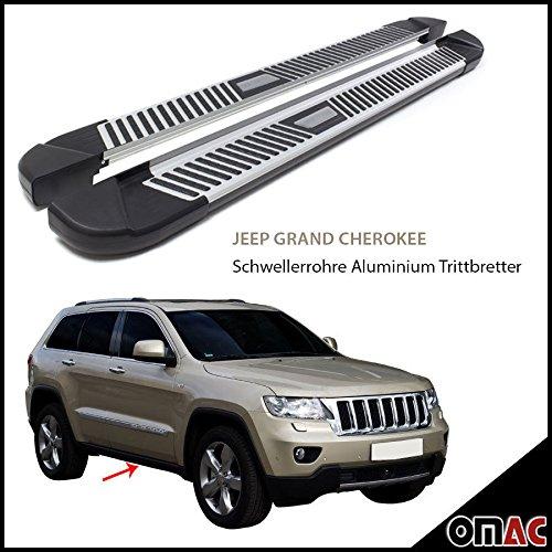 Jeu de marchepieds PYRAMID en aluminium pour Pedana Jeep Grand Cherokee 2011  (183)