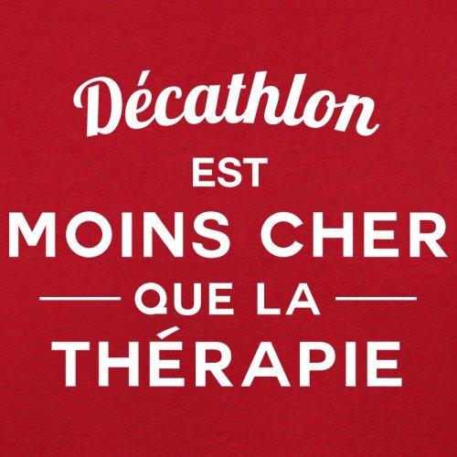 Décathlon est moins cher que la thérapie - Femme T-Shirt - 14 couleur Rouge