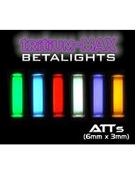 """Gardner Tackle Leutchköder """"Beta Atts lights"""" * tritio-Max* (1 par) Verde verde"""
