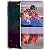 Samsung Galaxy A3 (2016) Housse Étui Protection Coque Paysage alpin Lac Forêt