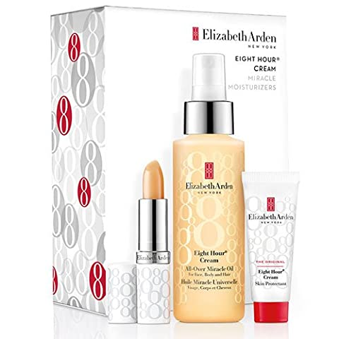 Eight 8 Hour Set - All-Over Miracle Oil + Lip Protectant + Skin Protectant