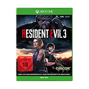 Resident Evil 3 – 100% UNCUT, USK18 [Xbox One]