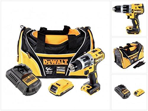 Preisvergleich Produktbild DeWalt DCD 796 18 V Akku Schlagbohrschrauber Brushless 70 Nm in Tasche mit 1x DCB 183 2,0 Ah Akku und DCB 105 Ladegerät