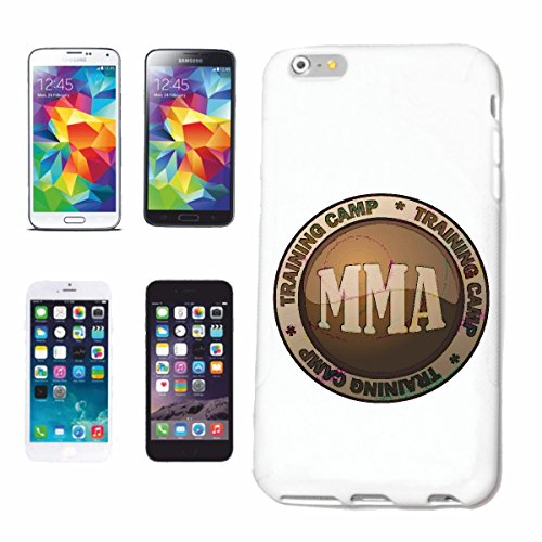 Handyhülle iPhone 7+ Plus TRAINING CAMP MMA MMA MIXED MATERIAL ARTS FIGHT CLUB STREETFIGHT KICKBOXEN KARATE JUDO BOXEN Hardcase Schutzhülle Handycover Smart Cover für Apple iPhone in Weiß - Club-camp-shirt