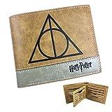 Portafoglio Harry Potter Reliquie della morte pelle marrone