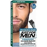 Just For Men Brush-In Color Gel Mustache & Beard, 1 Kit, (Pack Of 3)