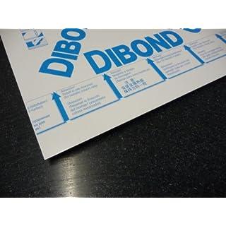 Alu-Verbundplatte 1000 x 1000 x 4 mm Aluminiumverbundplatte Zuschnitt