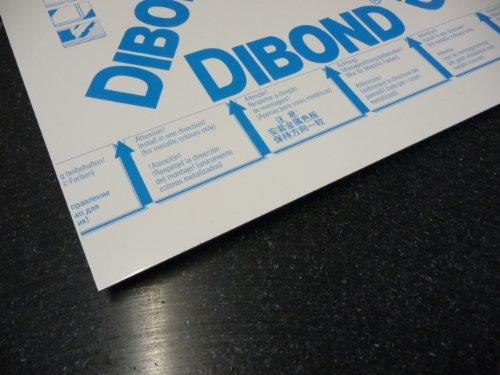 alt-intech Dibond Platte Alu 0,3 mm