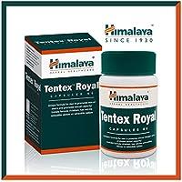 Himalaya Tentex Royal - Natural Stamina Support for Men - 60 Capsules by Himalaya (Since 1930) (1-Pack Performance and Stamina Booster)