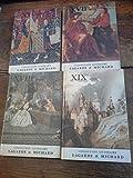 lot de 4 livres collection litt?raire lagarde et michard xvi xvii xviii xix?mes si?cles