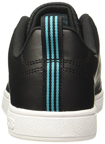 adidas Damen Vs Advantage CL W Schuhe core black-core black-energy blue (BB9617)