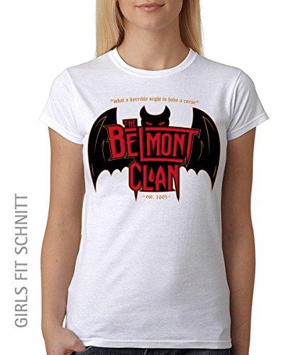 -- Belmont Clan - Vampire Hunters -- Unisex T-Shirt Weiss, Größe 3XL (Unisex Solid T-shirt)