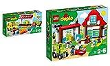 LEGO DUPLO Town 2er Set: 10867 Bauernmarkt + 10869 Ausflug auf den Bauernhof