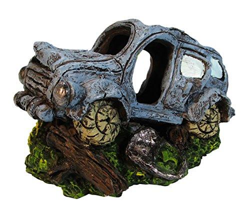 Orbit OB-2850 Auto-Wrack, Wagen, Oldtimer, Höhle, Aquariendekoration, Polyresin