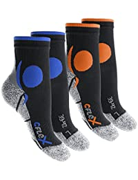 4 Paar Original CFLEX Running Socks für Sie und Ihn - stoßabfedernd, schützend, unterstützend und klimatisiert - Größen 35-46 wählbar - Top Qualität von celodoro