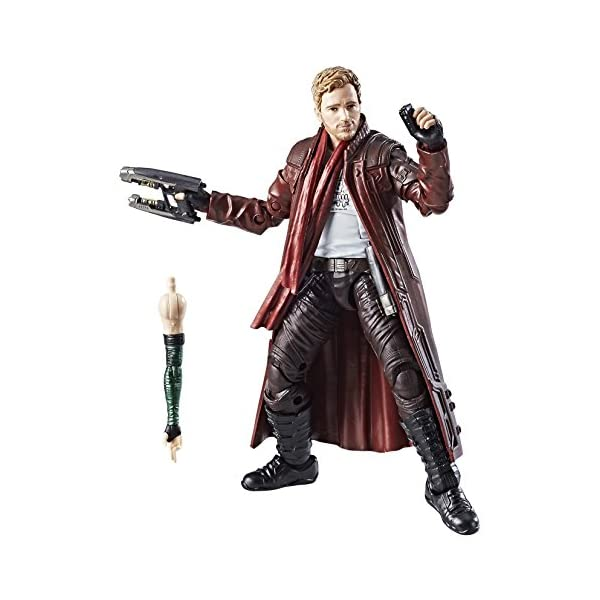 Marvel Guardianes de la Galaxy Leyendas Series Star-Lord, 15,2 cm 2
