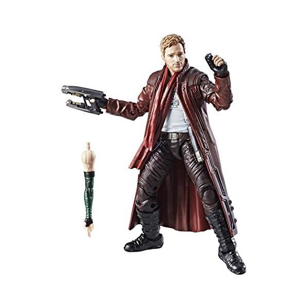 Marvel Guardianes de la Galaxy Leyendas Series Star-Lord, 15,2cm 2