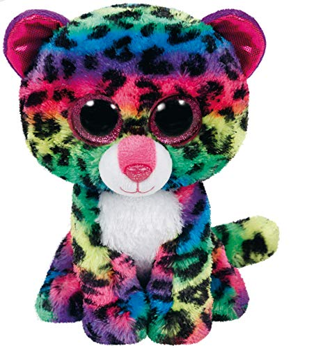 Beanie Boo Leopard - Dotty - Multicoloured - 24cm 9""