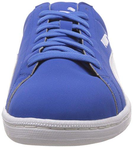 Puma Smash Buck, Unisex-Erwachsene Sneakers Blau (Strong Blue/White)