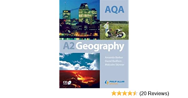 AQA A2 Geography Textbook Amazoncouk Malcolm Skinner David Redfern Amanda Barker 8601404226908 Books