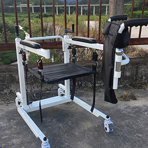 51XjaOQKxxL - YXP Elevador de Pacientes con función telescópica, Capacidad de Peso de 500 LB, Elevador de Eslinga de Transferencia de Pacientes para Personas discapacitadas de Edad Avanzada