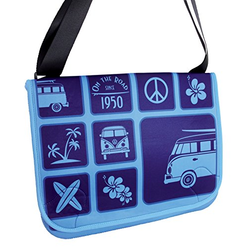 VW Collection by Brisa Messenger Bag blau