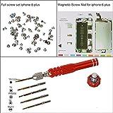 eJiasu Professional Magnetic Project Pad Mat, Schraubensätze, Pentalobe Schraubendreher für iPhone 6/6 Plus / 6S / 6S Plus, iPhone 7/7 Plus(IPhone6 Plus Reparatur Werkzeug Set)
