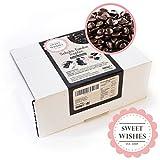 Sweet Wishes 900g Belgische Fondue-Schokolade Zartbitter-Drops - sanft schmelzender Hochgenuss