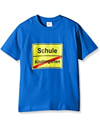 Coole-Fun-T-Shirts Schulanfang, T-Shirt Mixte Bébé