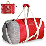 Travel Inspira 60L Foldable Travel Luggage Duffle Bag Lightweight for Sports, Gym, Holiday and Travel Duffel Bags