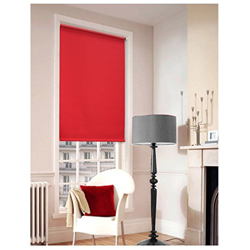 auralum-120cm175cm-red-highlight-blinds-pleats-double-ended-same-colours-sun-protection-roller-blind