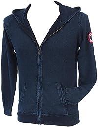 Rivaldi black - Genevu navy veste fz - Vestes pulls zippés