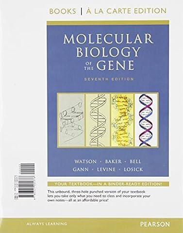 Molecular Biology of the Gene, Books a la Carte Plus