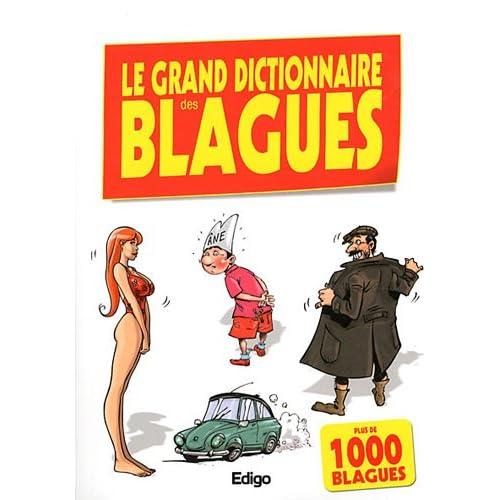 Le grand dictionnaire des blagues : Plus de 1000 blagues