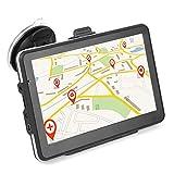 Sistema di navigazione GPS portatile touchscreen HD da 7 pollici Keenso universale per camion auto 256 MB 8 GB MP3 MP4 FM Bluetooth Europa Mappa/Mappe a vita/Traffico in diretta/Parcheggio