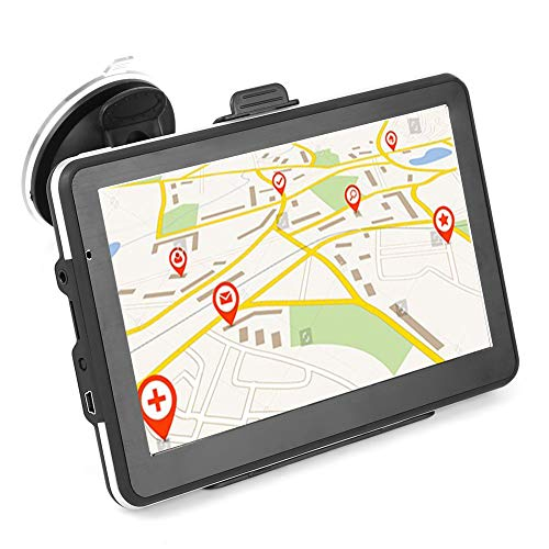 Keenso Universal 7 pulgadas HD Pantalla táctil portátil Sistema de navegación GPS...