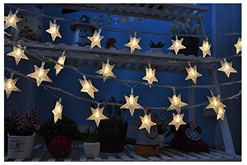 Weihnachten Hochzeit Kinderzimmer Dekorative Leuchten Lampe Nachtlicht Lampe Beleuchtung Batteriebetrieben Star Kugel (Star)