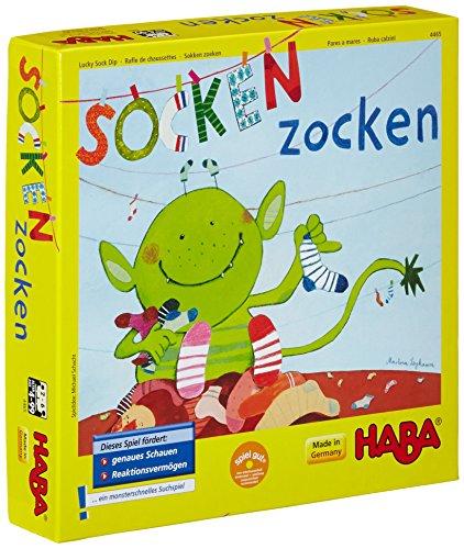 HABA 4465 - Socken zocken, Suchspiel