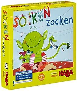 HABA 4465 Socken zocken - Juego Infantil de atención (en alemán)