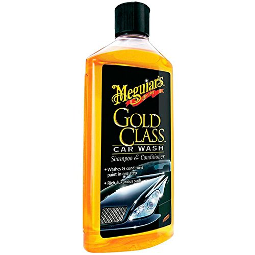 Meguiar`s ME G7116 Gold Class Car Wash Shampoo et Conditioner, 473 ml