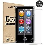 ( 2 Pack ) Protection écran en Verre Trempé pour iPod Nano 7ème génération Akwox 9H HD Films de Protection d'Ecran pour iPod Nano 7