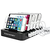 Multi Ladestation,Tonyhoney USB Ladestation iPhone Dockingstation für Apple...