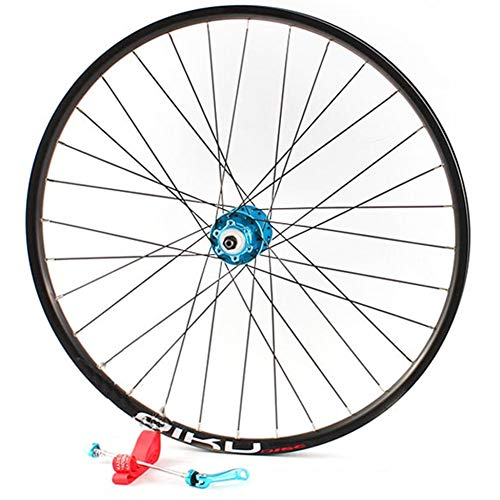 "YHSFC 26\""Mountain Wheel Bearing Aluminium Alloy Zwei Perlin Card Type Scheibenbremse Single Vorderräder,B,1029g"